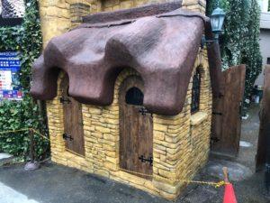 湯布院でモルタル造形
